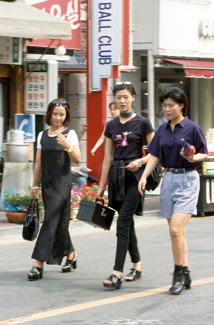 Street Style Korean Vintage Fashion