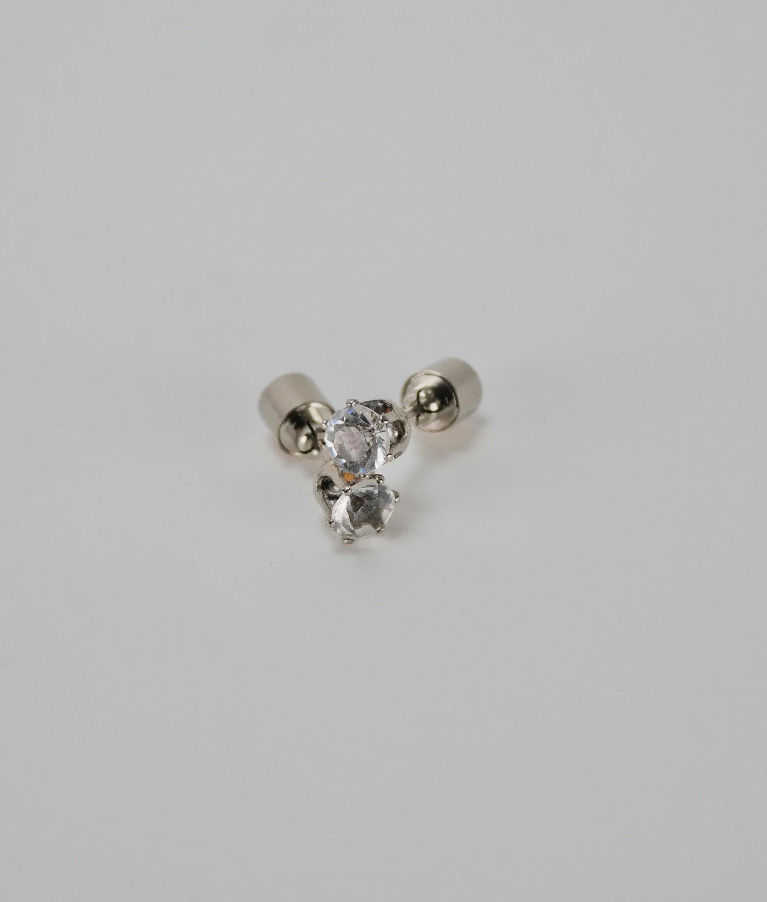 LED Earrings Glowing Crystal Stud earring Stud