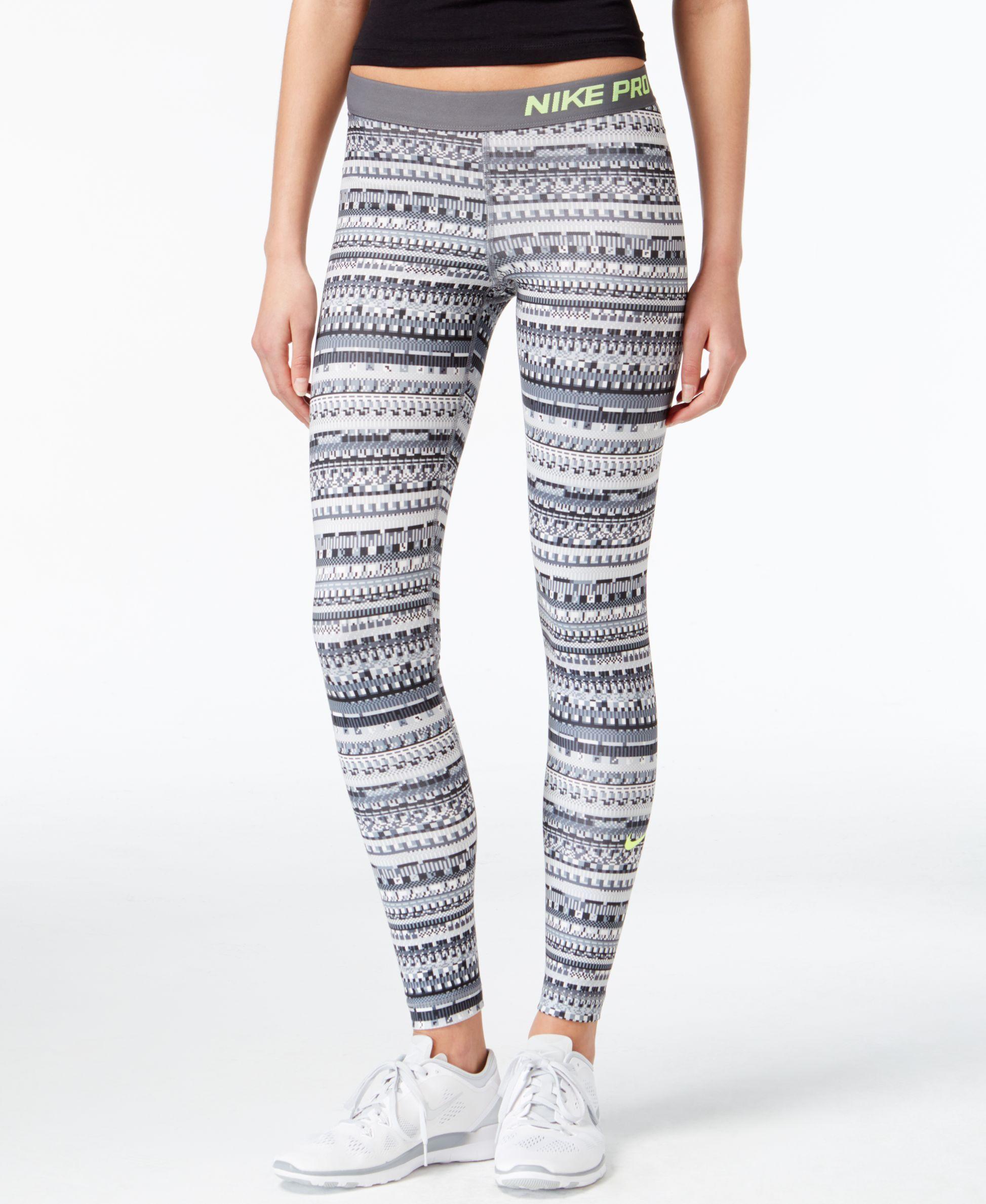 2c7bdc8caf55d Nike Pro Hyperwarm Printed Dri-FIT Leggings & Reviews - Pants & Capris -  Women - Macy's