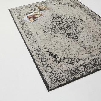 Vloerkleed Tabriz grijs/groen 160x230 cm | Laagpolige vloerkleden | Vloerkleden | Vloeren | KARWEI
