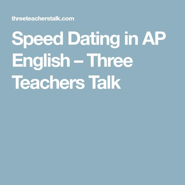 Ap lit speed dating