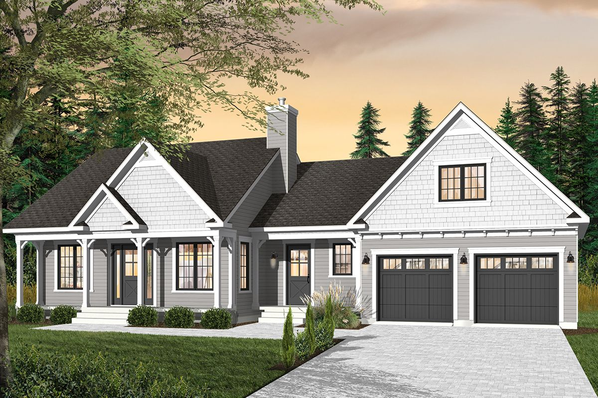 Country House Plan 034