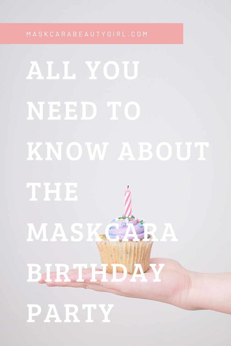 Maskcara Birthday Party maskcara maskcaramakeup