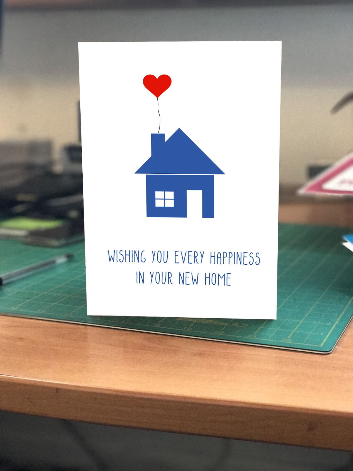 God Bless You Always Wishing You Every Happiness in Your New Home Card