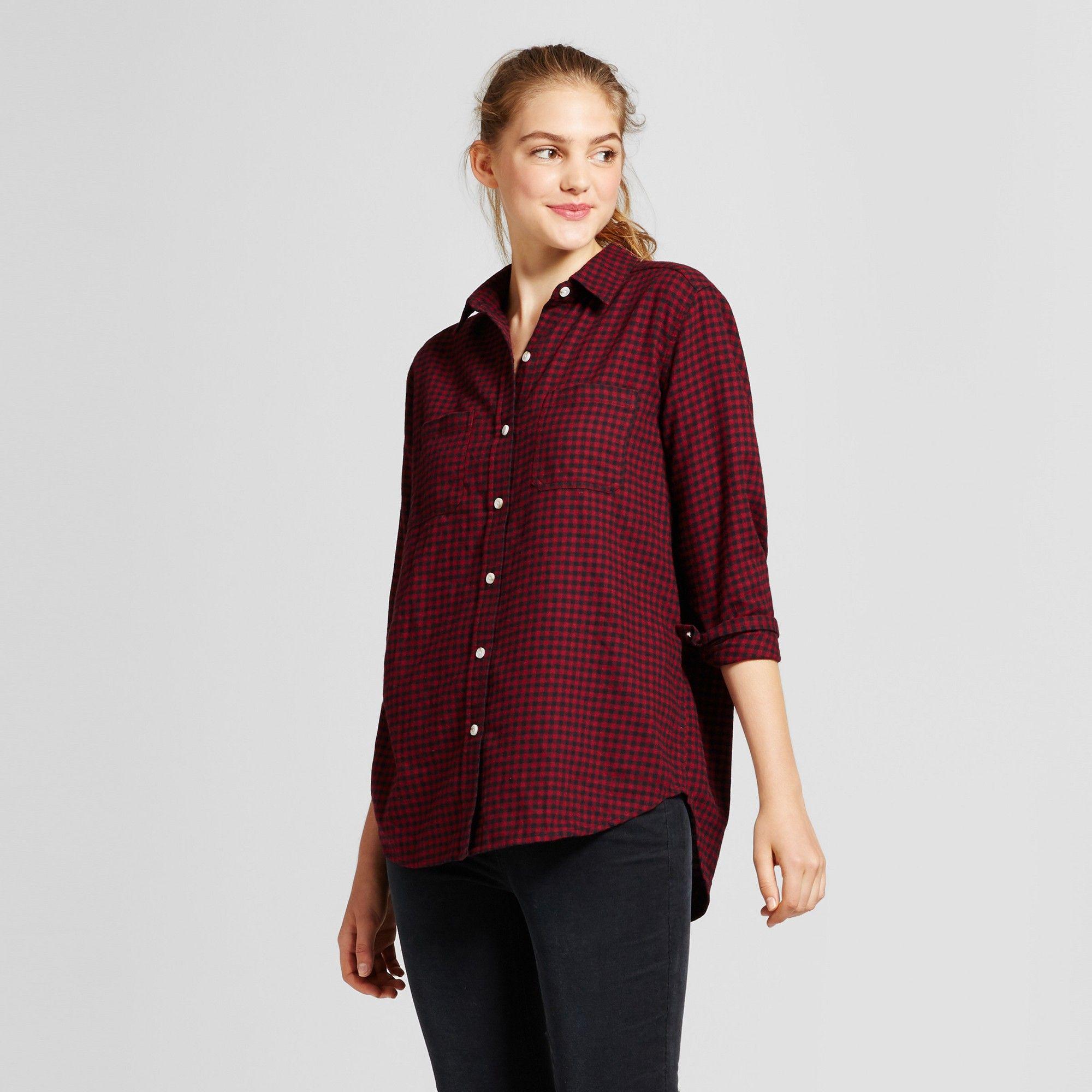 abd46628 Red Plaid Shirt Target | Top Mode Depot