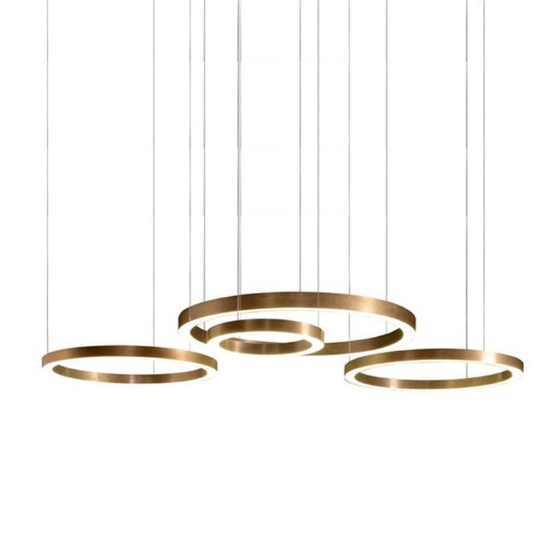 Mooielight Light Ring Horizontal For Living Room Bedroom Stainless Steel Modern Simple Hotel Club Lobby Hanging Pendant Lamp With Images
