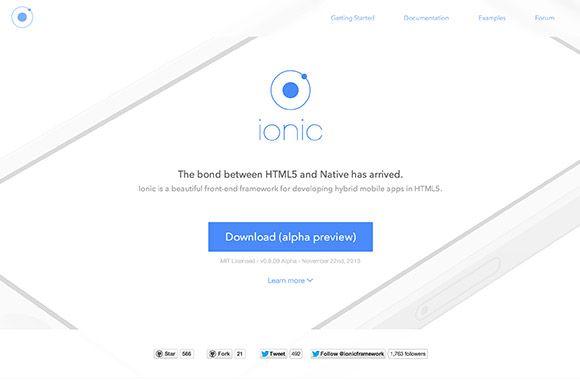 Ionic HTML5 mobile app framework Mobile app, App, Free