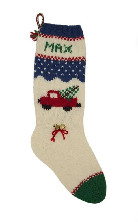 Toy Truck Christmas Stocking | CHRISTMAS STOCKING\'S | Pinterest ...