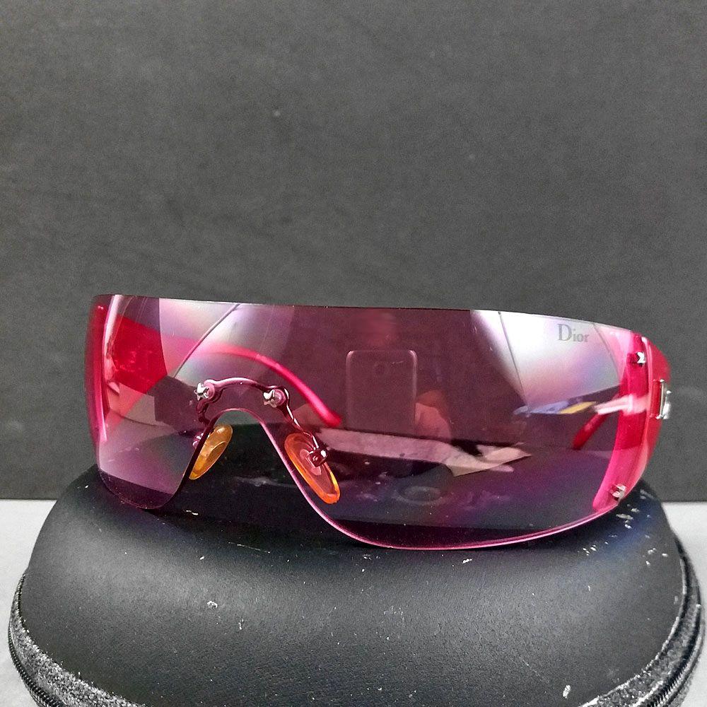 84563df0ca Christian Dior Pink Ski 6 Frameless Sunglasses WQ8 120 w Case   Cloth
