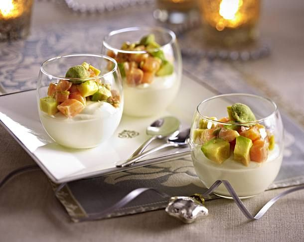 Avocado-Lachs-Vorspeise #spitzkohlrezeptehackfleisch