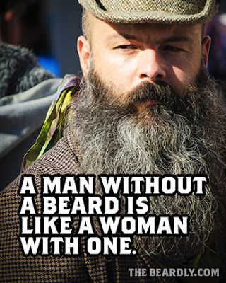 Pleasing The Beardly A Man Without A Beard Is Like A Woman With One Short Hairstyles For Black Women Fulllsitofus