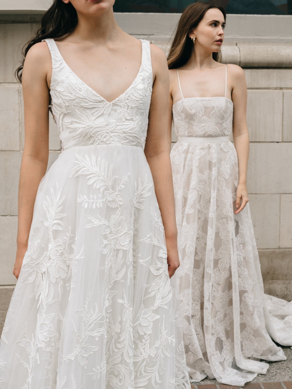 When We Say This Brand Honors And Celebrates Its Brides We Mean It Wedding Gowns Mermaid Wedding Dresses Blush Beautiful Dresses [ 1240 x 930 Pixel ]