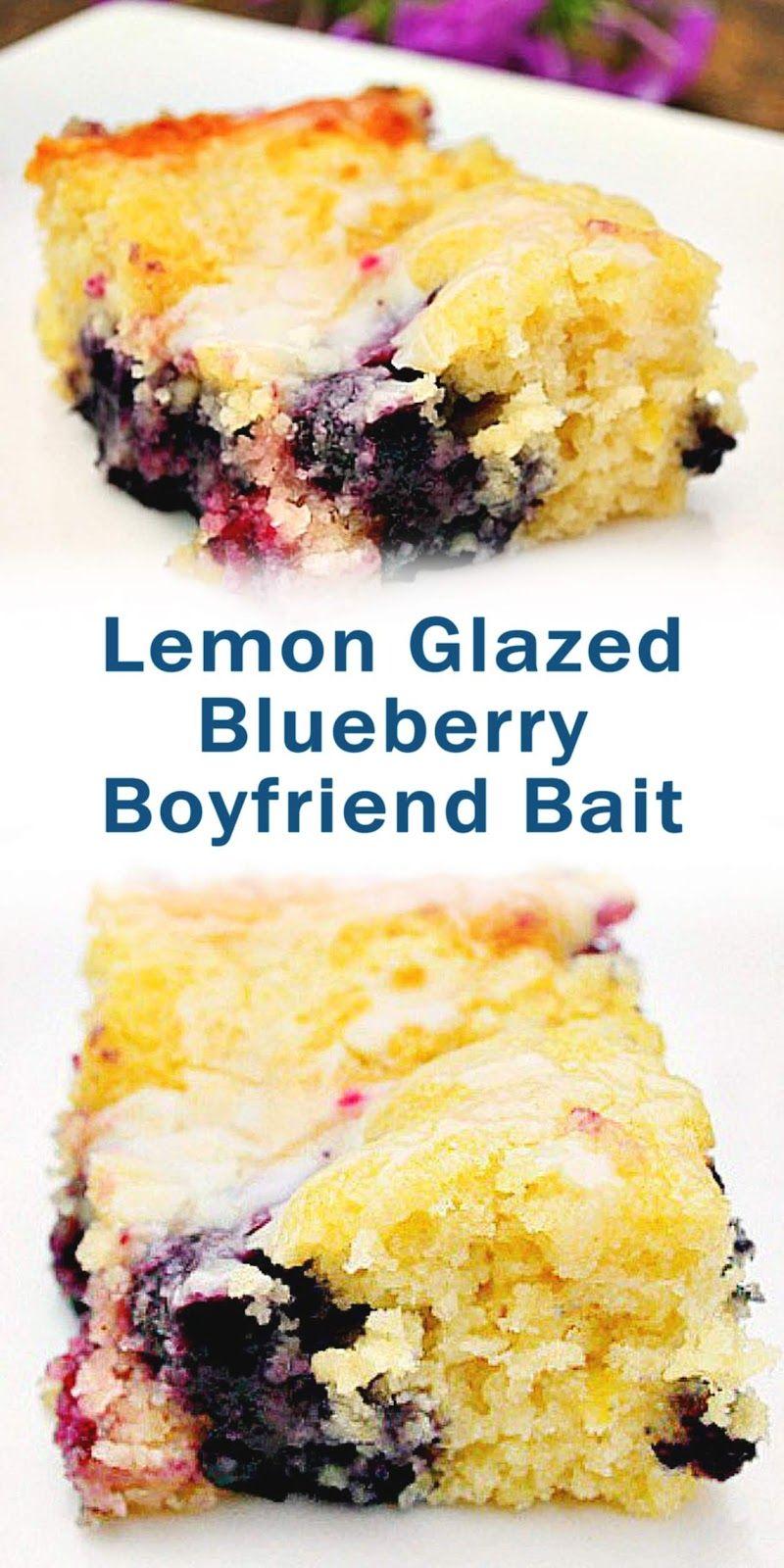 Lemon Glazed Blueberry Boyfriend Bait Bestrecipe005 Resep Makanan Penutup Resep Makanan Makanan Enak