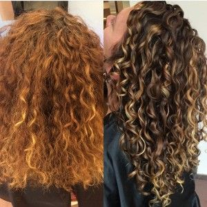 Pintura Highlights The Color Method For Curly Hair Hair