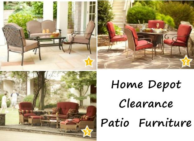 Wonderful Home Depot 50% OFF Patio Furniture Clearance | Lots Of GREAT Martha Stewart  Living Sets