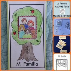 'La Familia' Activity Pack + Minibook is perfect for teaching family vocabulary...full of games, flashcards, activity pages and 'Mi Familia' Level A printable minibook. *UPDATED VERSION INCLUDED FULL COLOR FLASHCARDS OF FAMILY*This Activity Pack includes:-'Mi Familia' printable minibook-Family Flashcards + games to play with flashcards (2 versions, black & white and in color)-Family Comprehension Activity Page-'La Familia' Interactive Notebook Activity Page-Make your own personalized family…