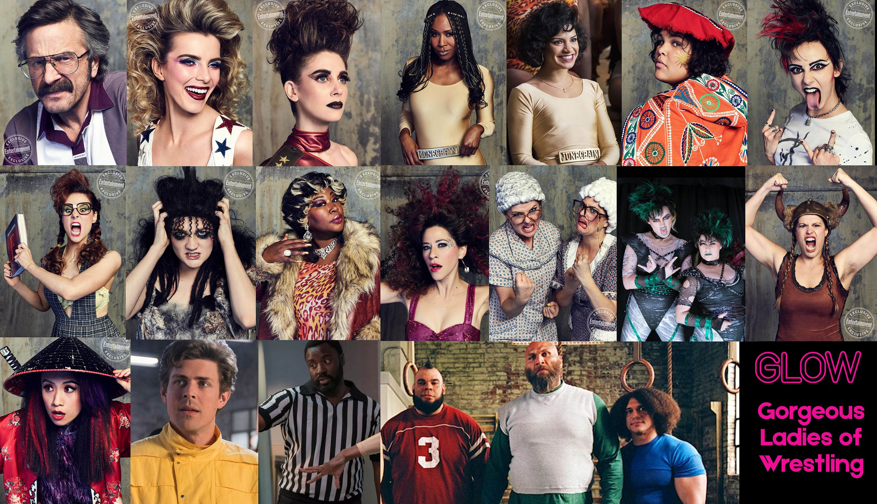 GLOW Characters! Celebrities, Tv shows, Shows on netflix