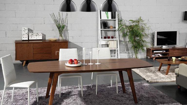 Mesa Idas: una mesa de comedor vintage de diseño moderno | home ...