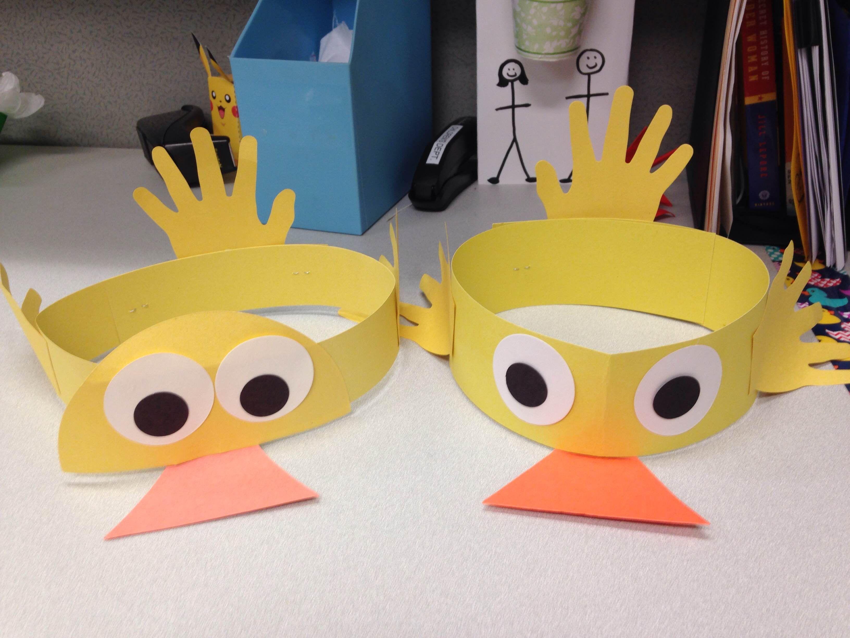 Duck Hat Craft
