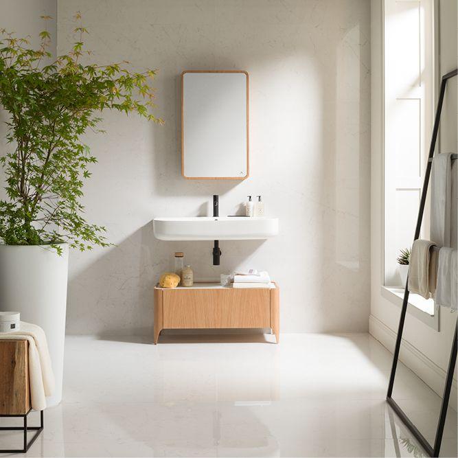 Nordic Bathroomdesign: Cersaie 2017: New Bathroom Furniture Nature And Frame
