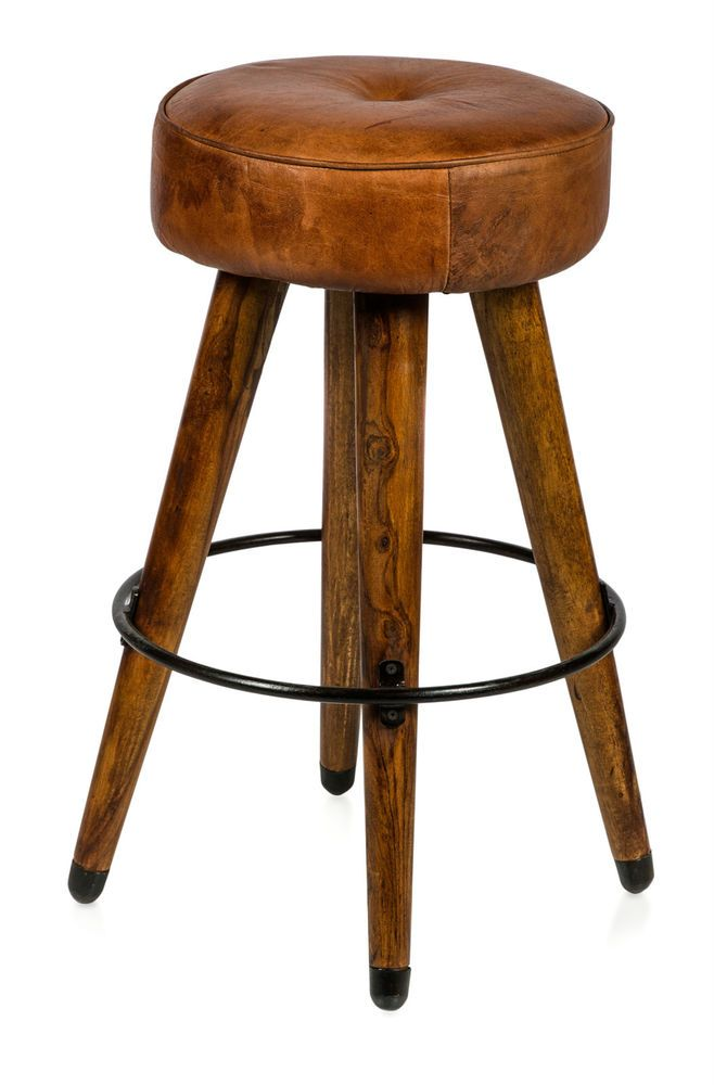 Casa Uno New Soft Leather Infinity Bar Stool With Rustic Charm Rrp 459 95 Leather Bar Stools Timber Bar Stools Leather Stool