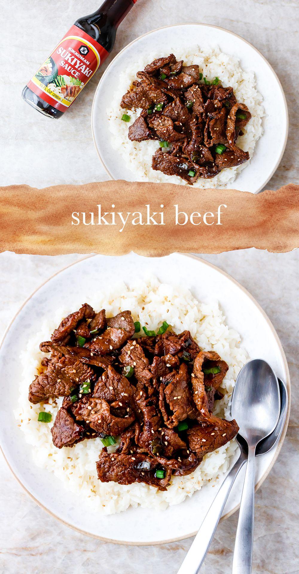 Thinly Sliced Beef With Sukiyaki Sauce Recipe Sukiyaki Recipe Beef Sukiyaki Recipe Sliced Beef Recipes