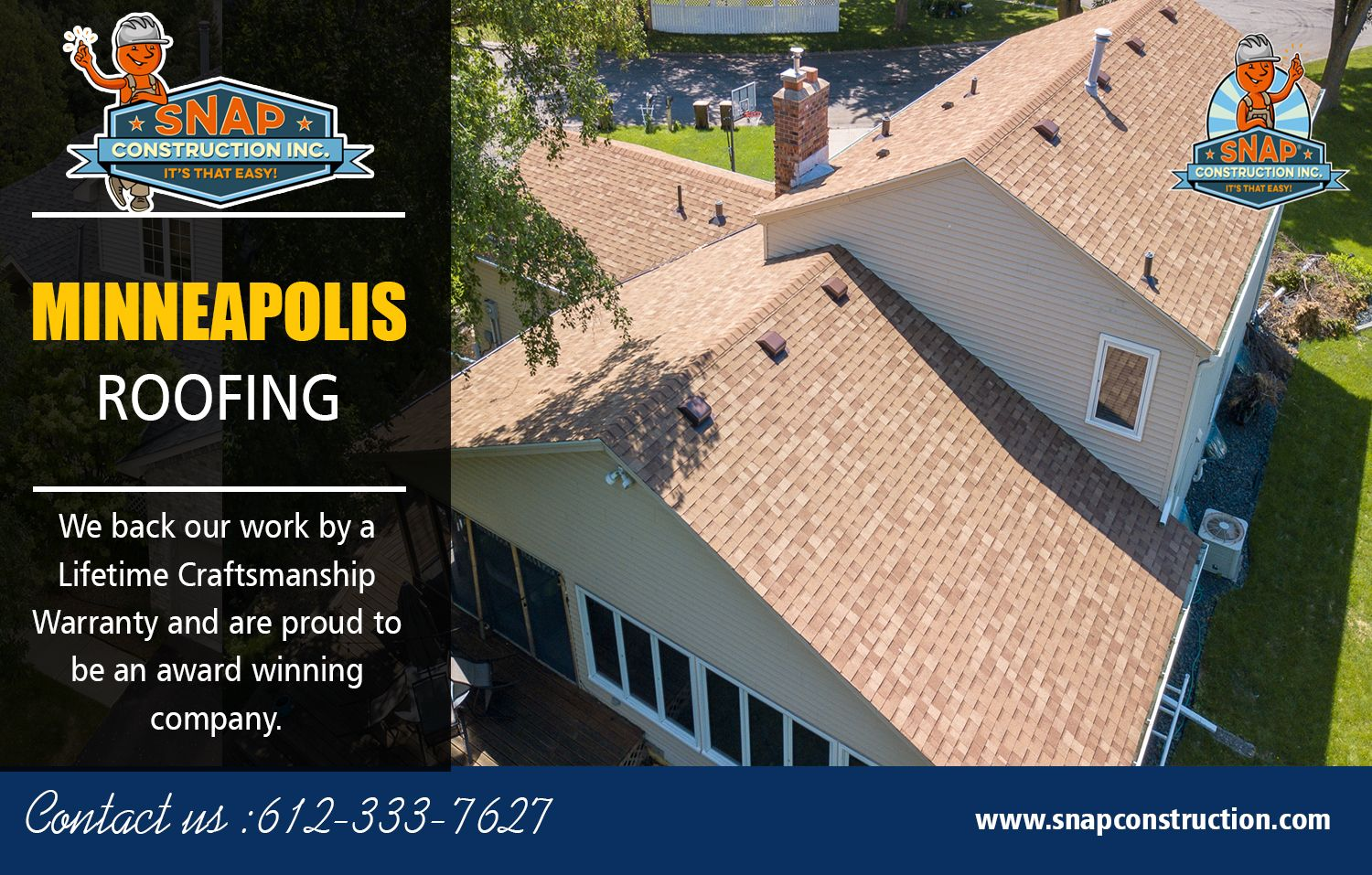 Pin by Snap Construction on Roofing Company Minneapolis