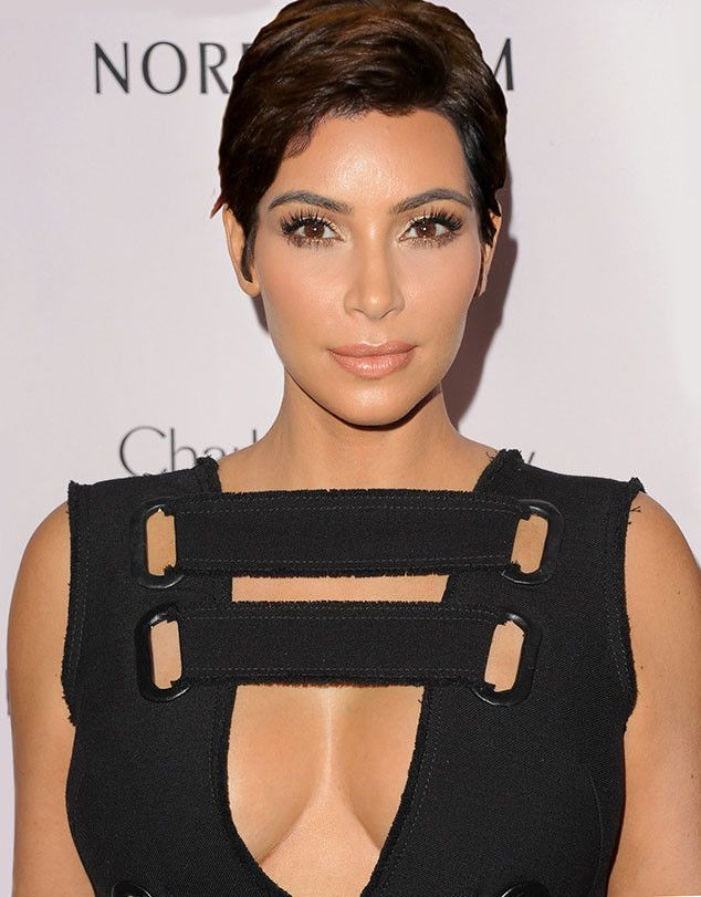 Kris Jenner's Hair from Kardashian Faces All Mixed Up