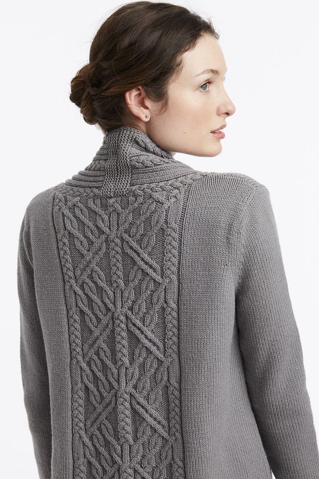 2a6481465 14 Arbor Cardigan pattern by Norah Gaughan