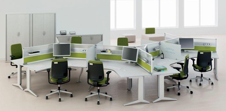 office desking. Steelcase_office_desk_cluster_000.jpg (775×383) Office Desking