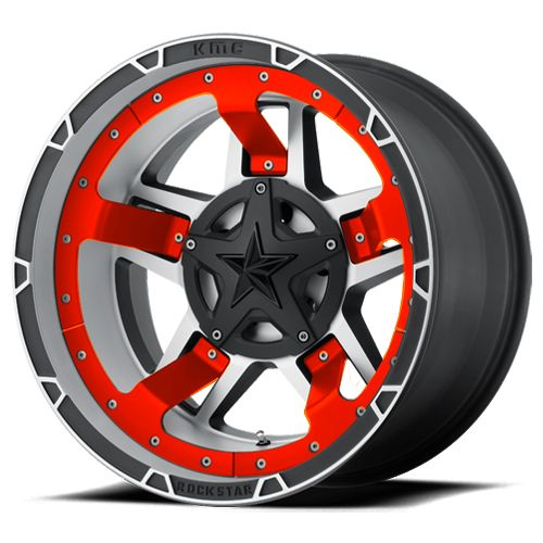 RED JEEP RIMS | Red Truck Wheels | Red Truck Rims | Red ...
