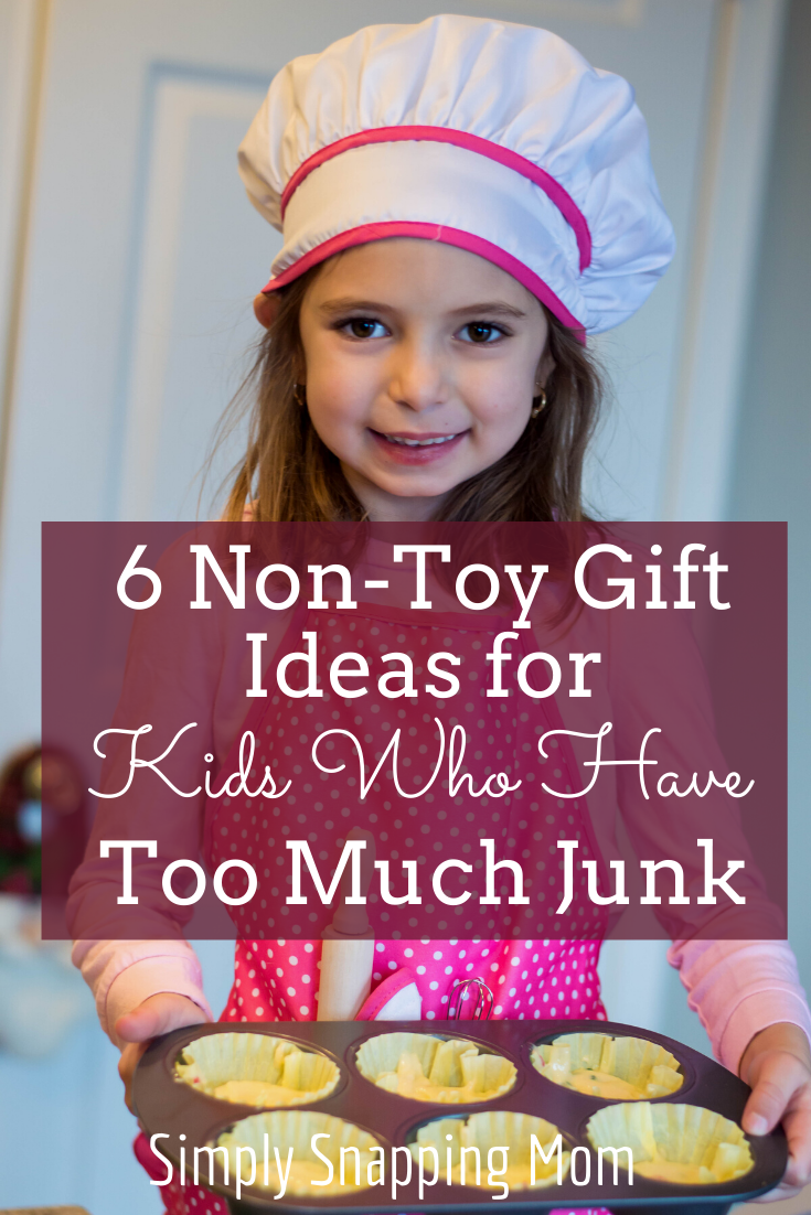 6 Non-Toy Gift Ideas for Kids Who Have Too Much Stuff