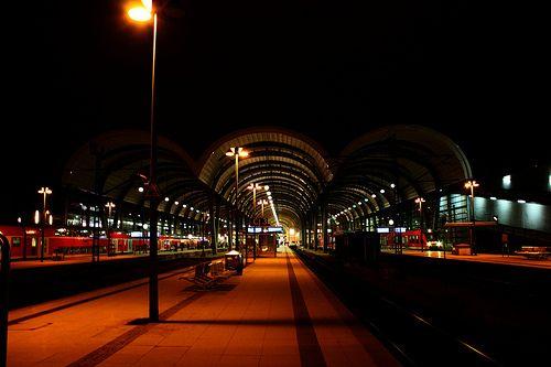 Kieler Hauptbahnhof.