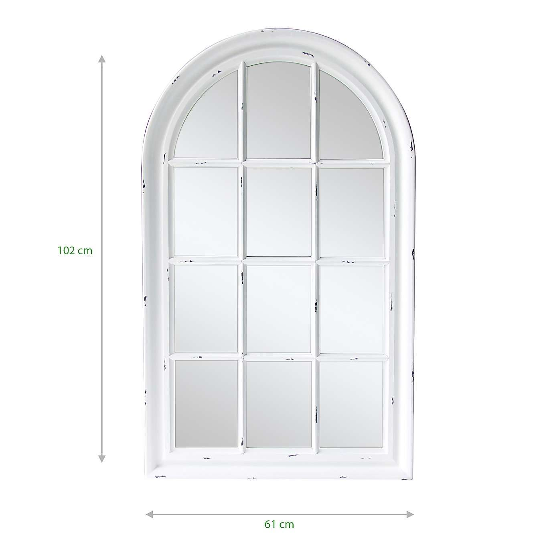 White Arch Mirror Dunelm Window Mirror Arch Mirror Arched Window Mirror