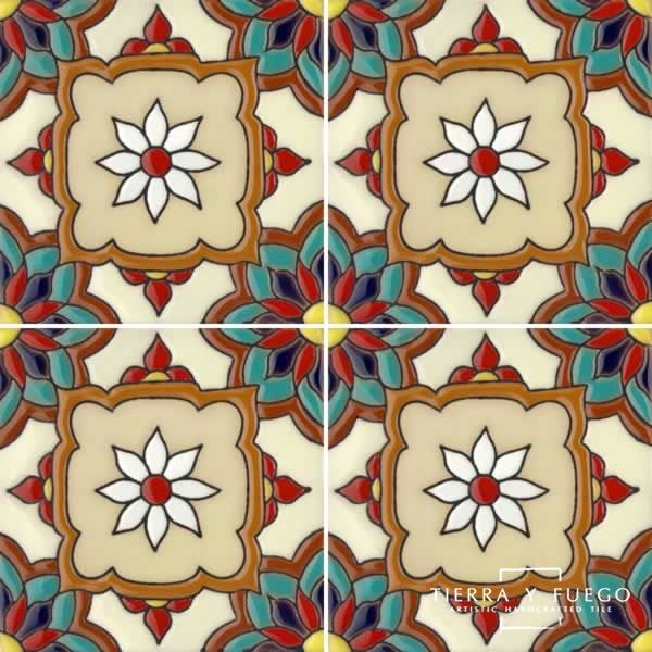 Malibu Tile Jazmin 2 From Santa Barbara Ceramic Collection