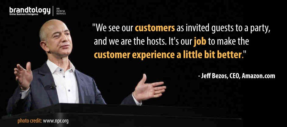 Here Is A Nice Quote About Customer Service From Amazon Com Ceo