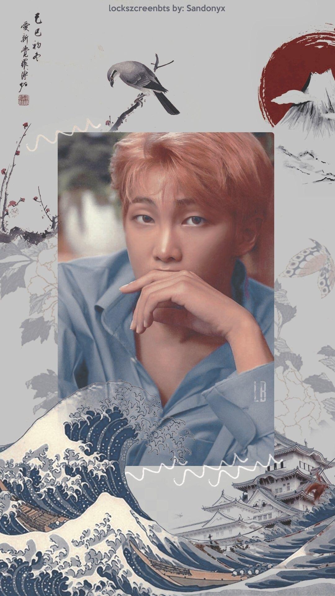 Namjoon Wallpaper / Credits to twitter/Lockszcreenbts © # ...