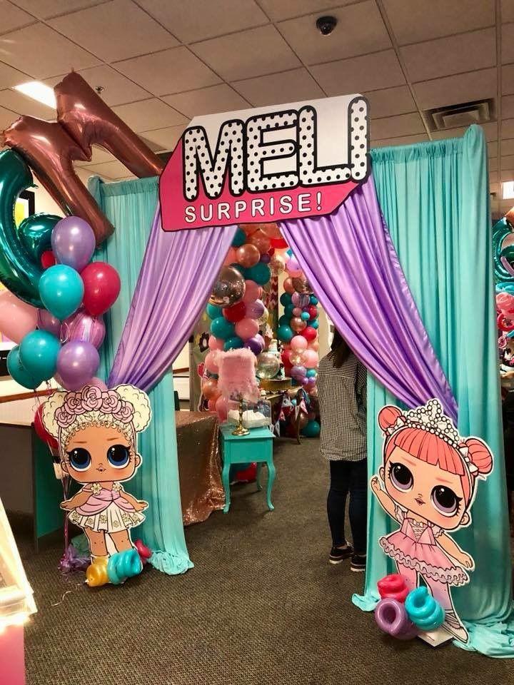 Lol Surprise Dolls Birthday Party Lany S 7 Birthday Pinterest