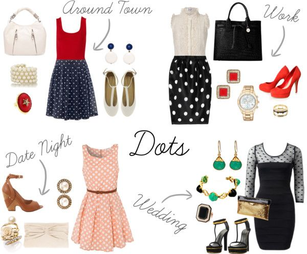 Dots For All Occasions, created by cab189 on Polyvore