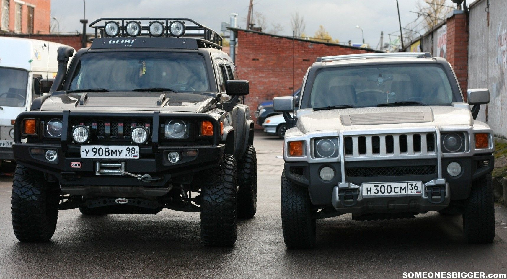 Hummer H3 Lifted | Lifted H3 vs Stock | HUMMERS | Pinterest | Hummer