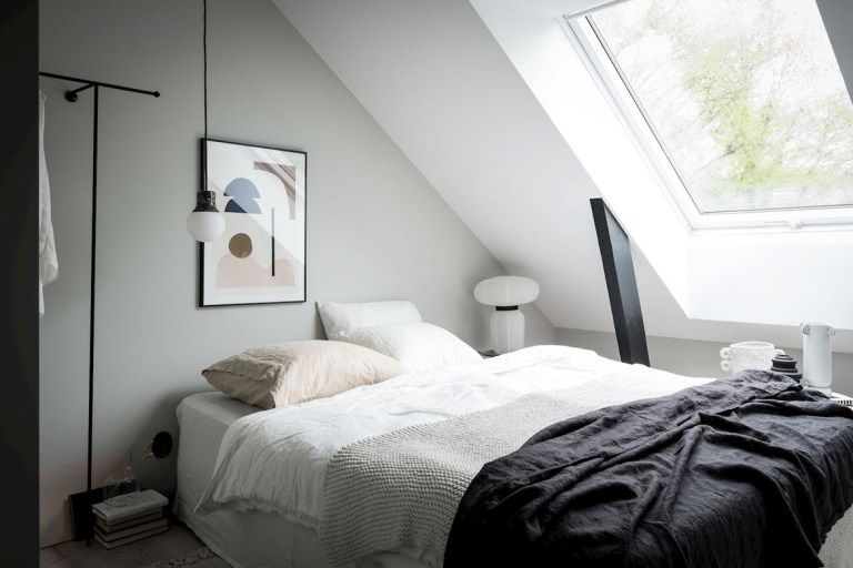 Home tour | A small but stylish attic apartment in Gothenburg | These Four Walls