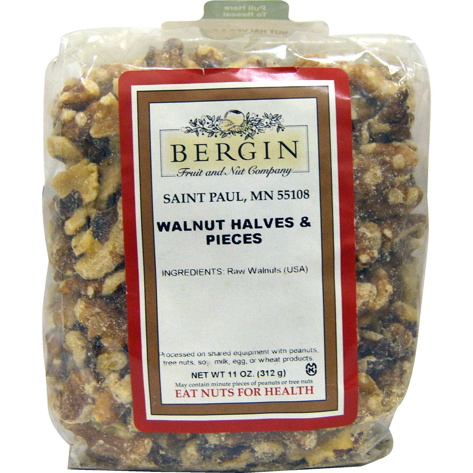 Bergin fruit and nut company walnut halves and pieces 11