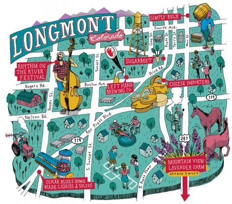 Byers Colorado Map Michael Byers   Longmont, Colorado map | Colorado L♥VE | Longmont