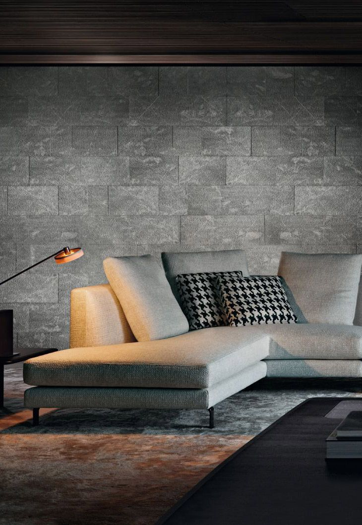 modern grey & beton interior Spaces . . . Home House Interior ...