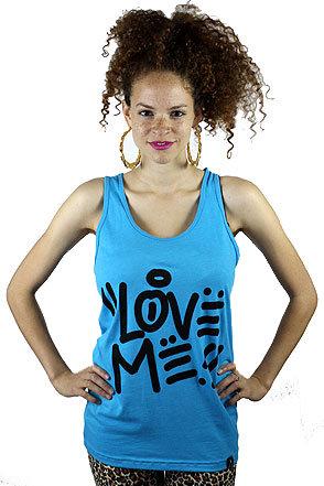 #Karmaloop                #love                     #Femme #Freak #LOVE #TANKNeon #Blue                 Femme Freak LOVE ME TANKNeon Blue                                             http://www.seapai.com/product.aspx?PID=620849