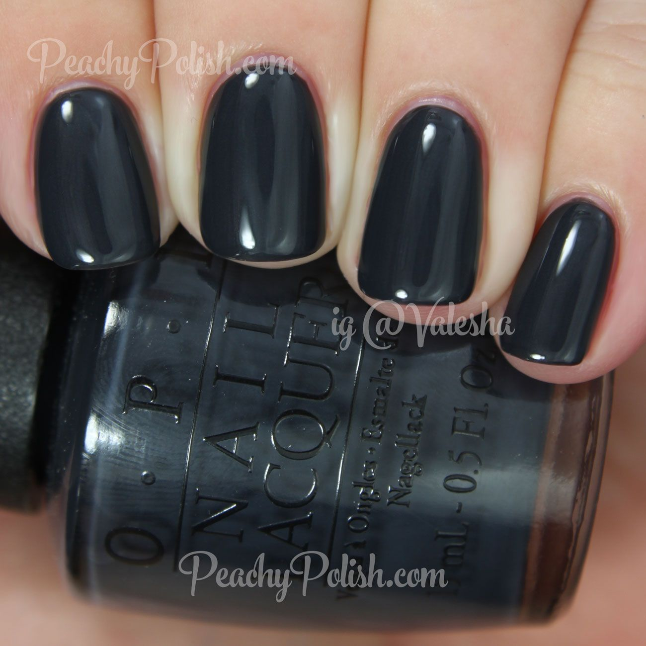 OPI Dark Side Of The Mood | Fifty Shades of Grey Collection | Peachy ...