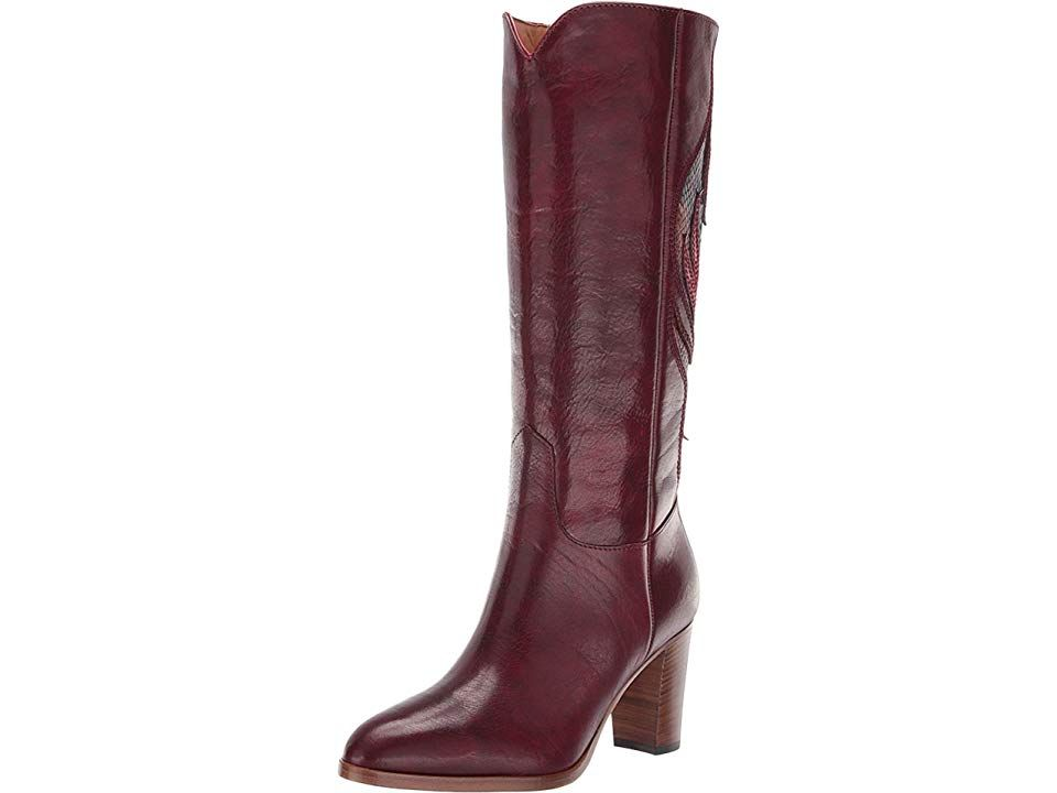 a2d4aa7a5f8 Frye June Flame Tall Women s Boots Wine Multi in 2018