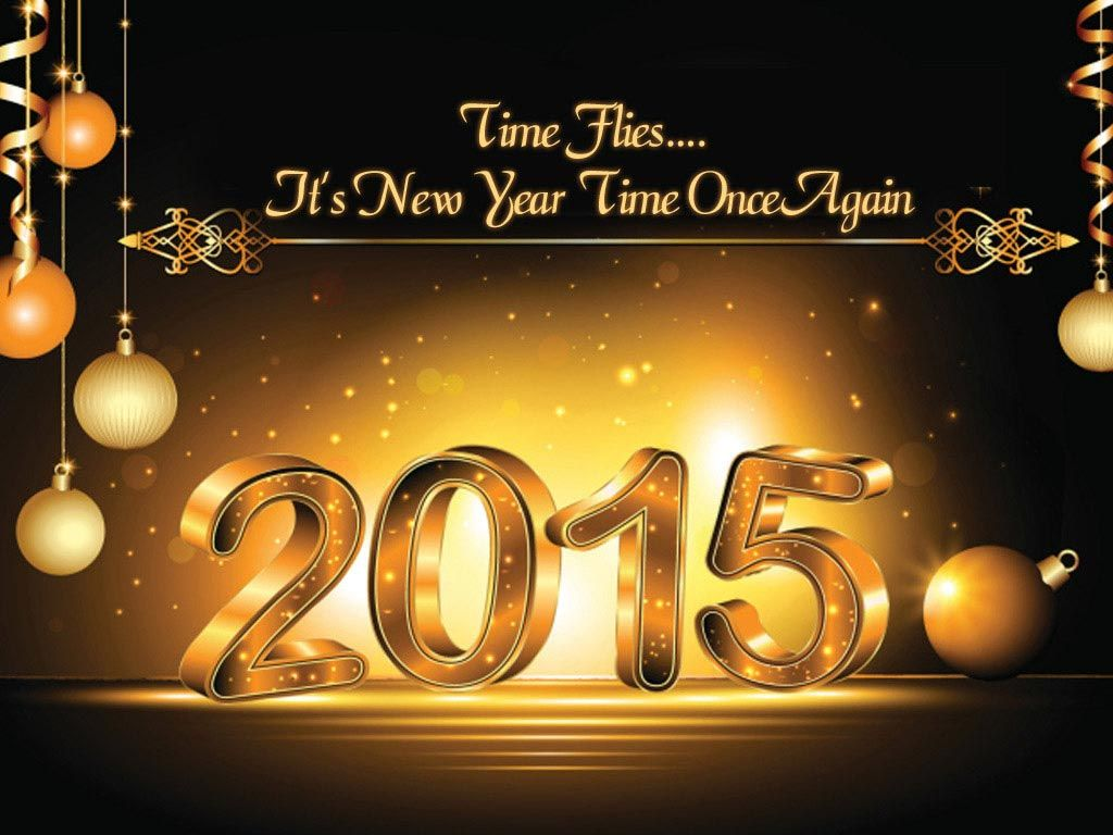 Time Flies�. It's New Year Time Once Again