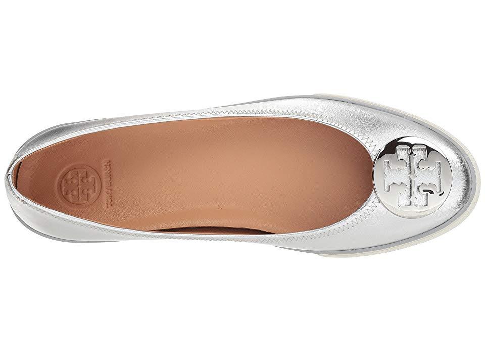 984e38dbd0cc Tory Burch Skylar Ballet Sneaker Women s Shoes Silver