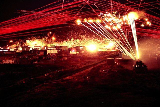 These Astonishing Vietnam War Firefight Photos Look Like Laser Hell